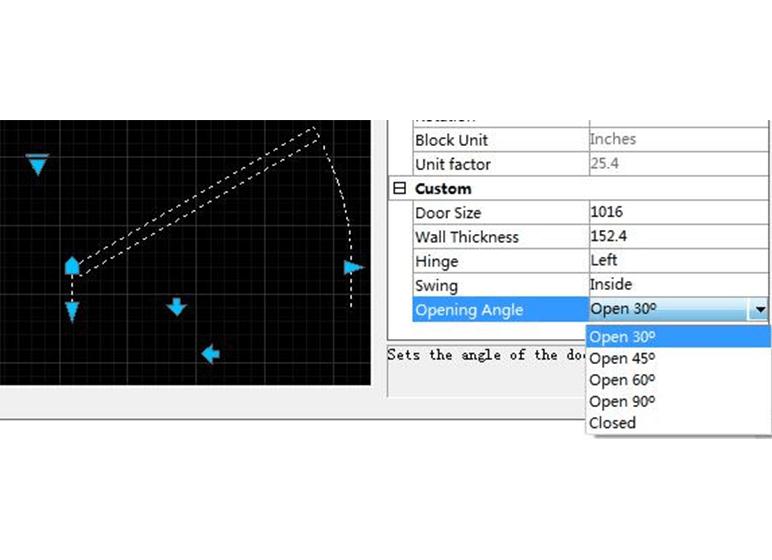 Dynamic Block Custom Parameters Editing in Properties Panel