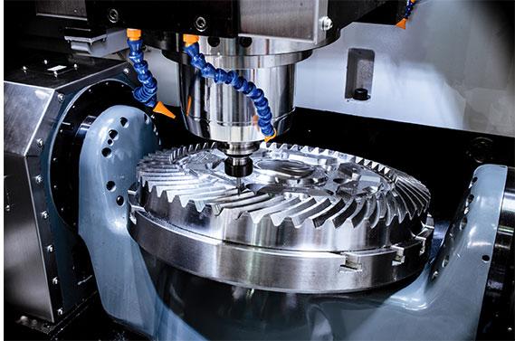 4&5 axis machining