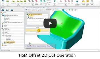 HSM_Offset_2D_Cut_Operation