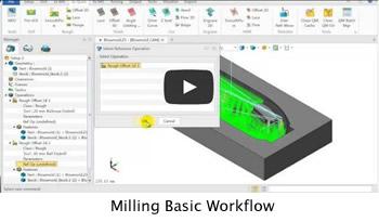 Milling Basic Workflow
