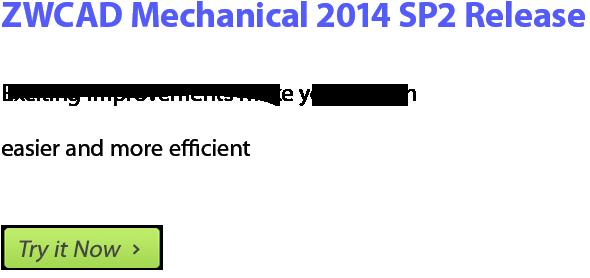 ZWCAD Mechanical 2014 SP2