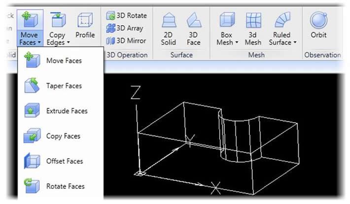 Editing 3D models