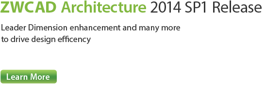 ZWCAD Architecture 2014 SP2