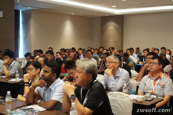 Audience in the seminar