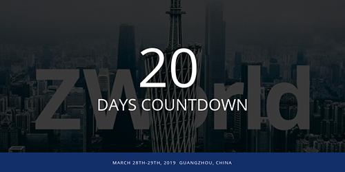 Quedan 20 días : ¿Está listo para ZWorld 2019?