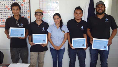 ZW3D CAD/CAM Delivered Training to Aplintec in Mexico for CNC Machining