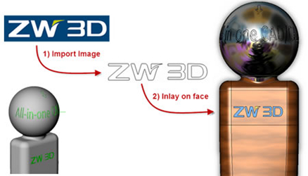 Personalize Designs with Logo Engraving from ZW3D