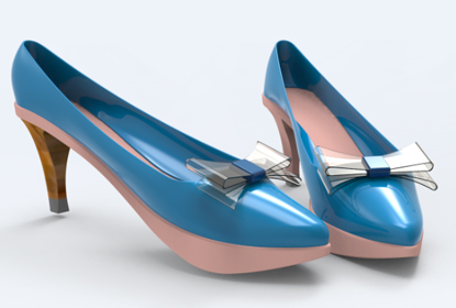 Happy CADing with ZW3D: Design a High Heel