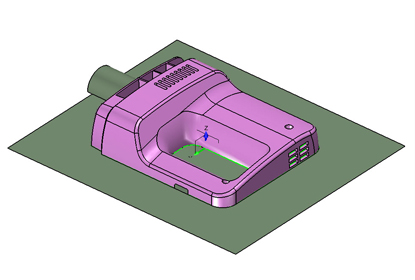Tips of Whole-process 3D Mold Design with ZW3D 2012