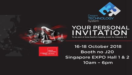ZW3D Will Attend Industrial Transformation ASIA-PACIFIC in Singapore