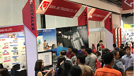 ZW3D Attended METALEX 2018 in Thailand