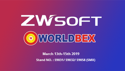 ZWSOFT is Waiting for You in WORLDBEX 2019!