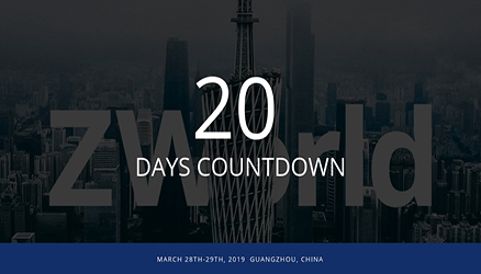 20 Days To Go: Are You Ready for ZWorld 2019?