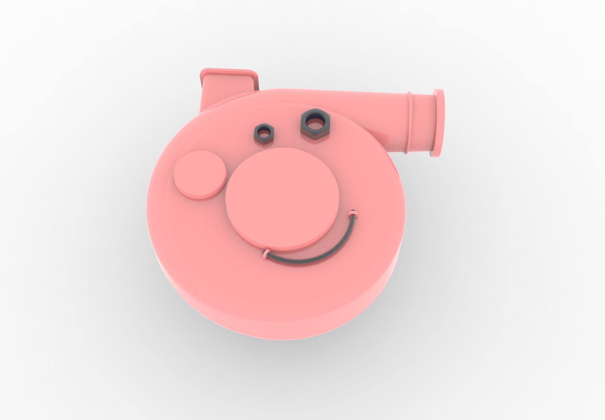 Peppa pig blower