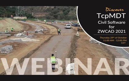 Webinar to Come: Explore the Latest ZWCAD 2021 and TcpMDT V8.5