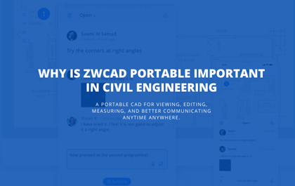 Why is ZWCAD Portable Important in Civil Engineering