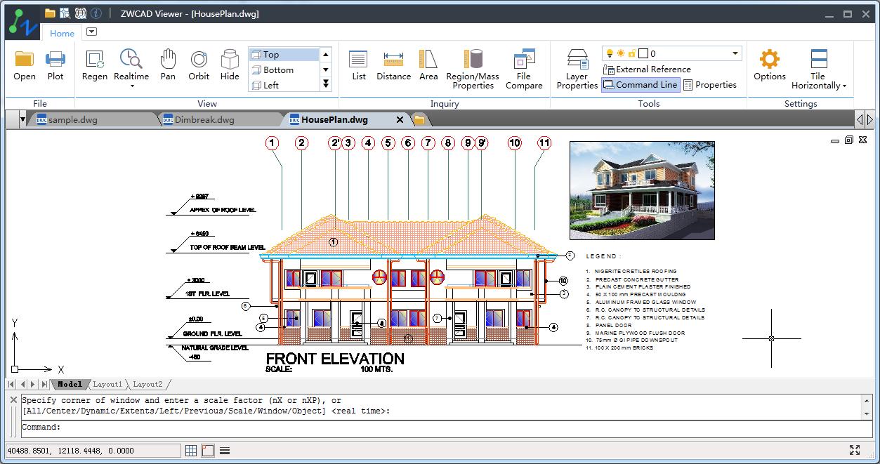 ZWCAD Viewer, Aplicación Gratuita para Visualizar y Trazar Archivos DWG de CAD