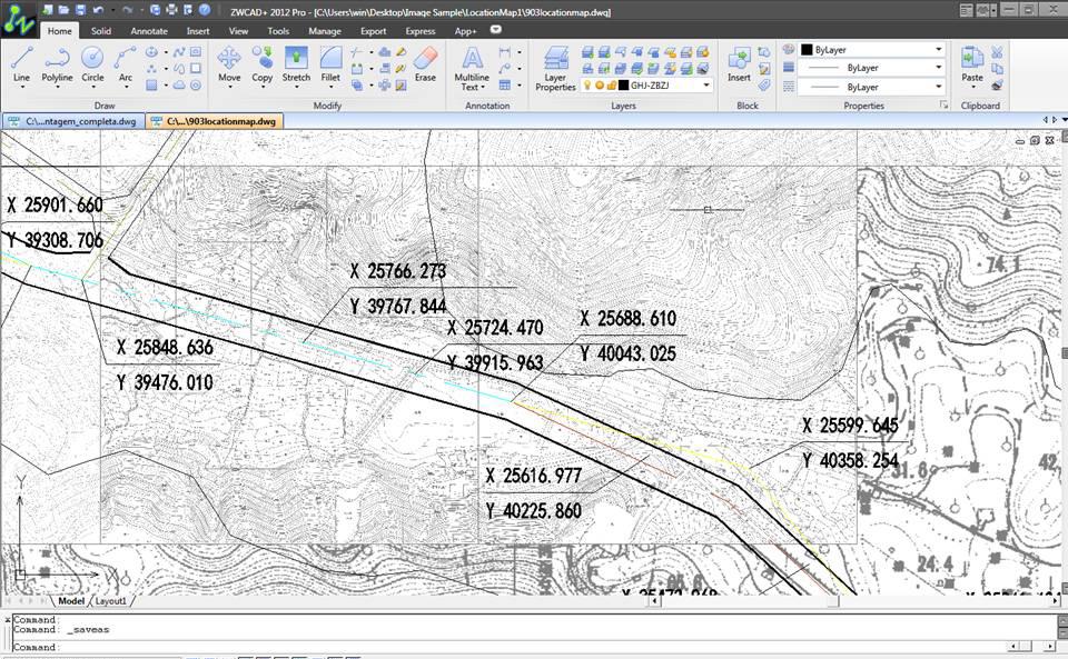 ZWCAD+ 2012 SP2をリリース---進化したイメージとハッチモジュールで設計効率が更に向上