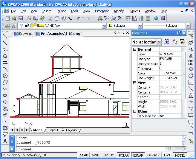 ZWCAD 2009 Efficient CAD Software