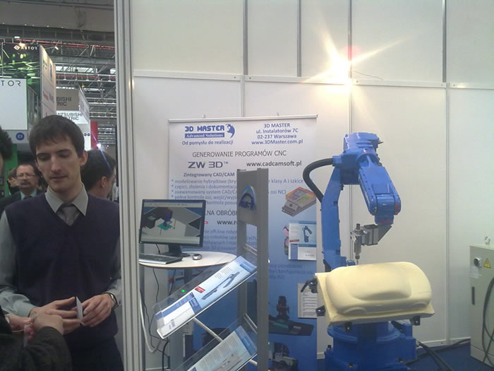 ZW3D Hit the 17TH AUTOMATICON in Poland
