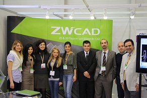 ZWCAD Well Received at Build Expo of Istanbul 2011 in Turkey