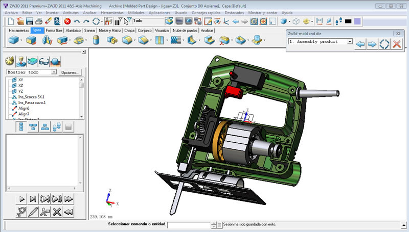 ZW3D 2011 Spanish Released! The CAD/CAM Software Now in 10 Languages!
