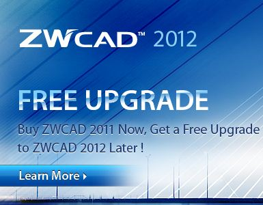 Upgrade to ZWCAD 2012 & Save 50% Off