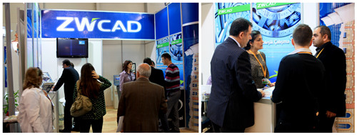 ZWCAD 2012 Attracted over 1500 Visitors in Istanbul