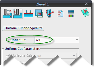undercut feature in ZW3D CAm