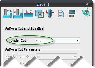 undercut feature in ZW3D CAm