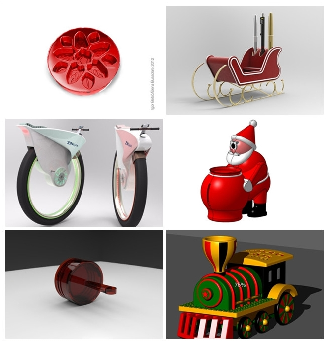 Design for Love: 87 Sweet Christmas Gifts by ZW3D CAD/CAM Users