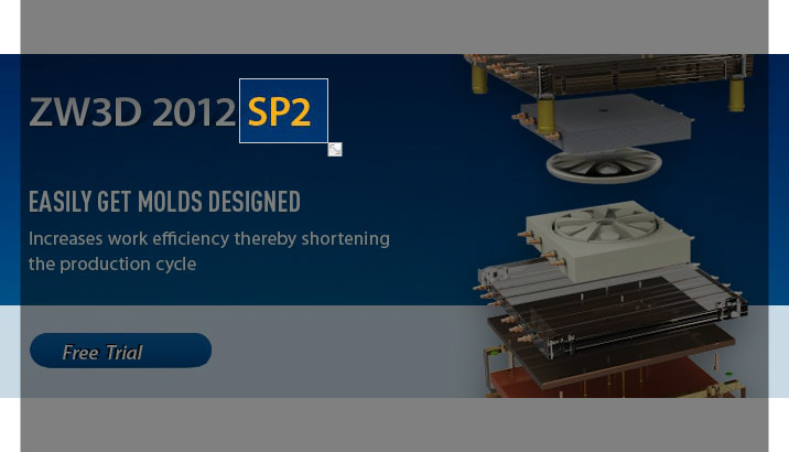 ZW3D 2012 SP2 Allows Engineers to Work in Their own Language