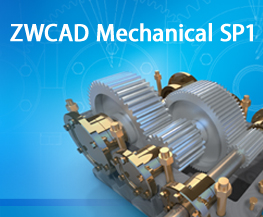 ZWCAD Mechanical 2012 SP1 Makes Complex CAD Designs Easy