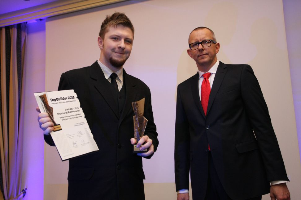 ZWCAD+ Wins Top Builder Award, a Token of Industry Recognition