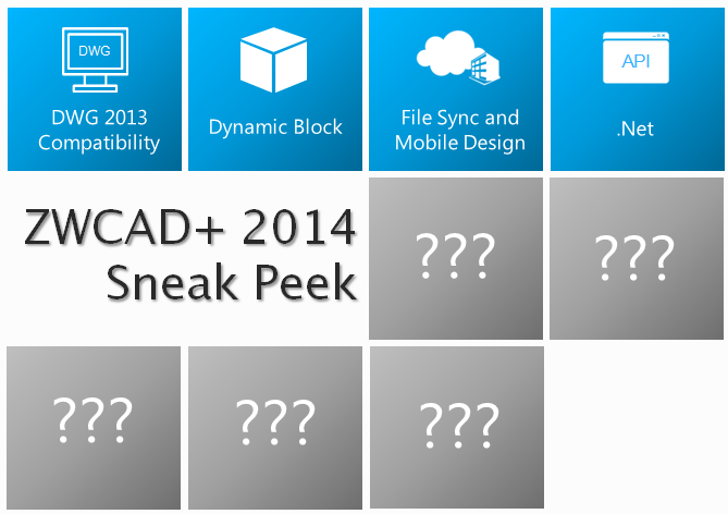 ZWCAD+ 2014 Beta Coming This July: Big Release More Than New DWG Compatibility