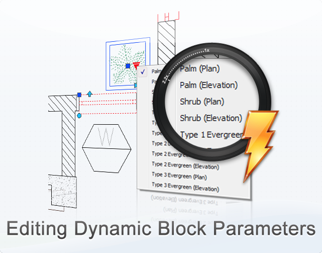 Dynamic Block in ZWCAD+ 2014 Beta: More Flexible to Make Changes