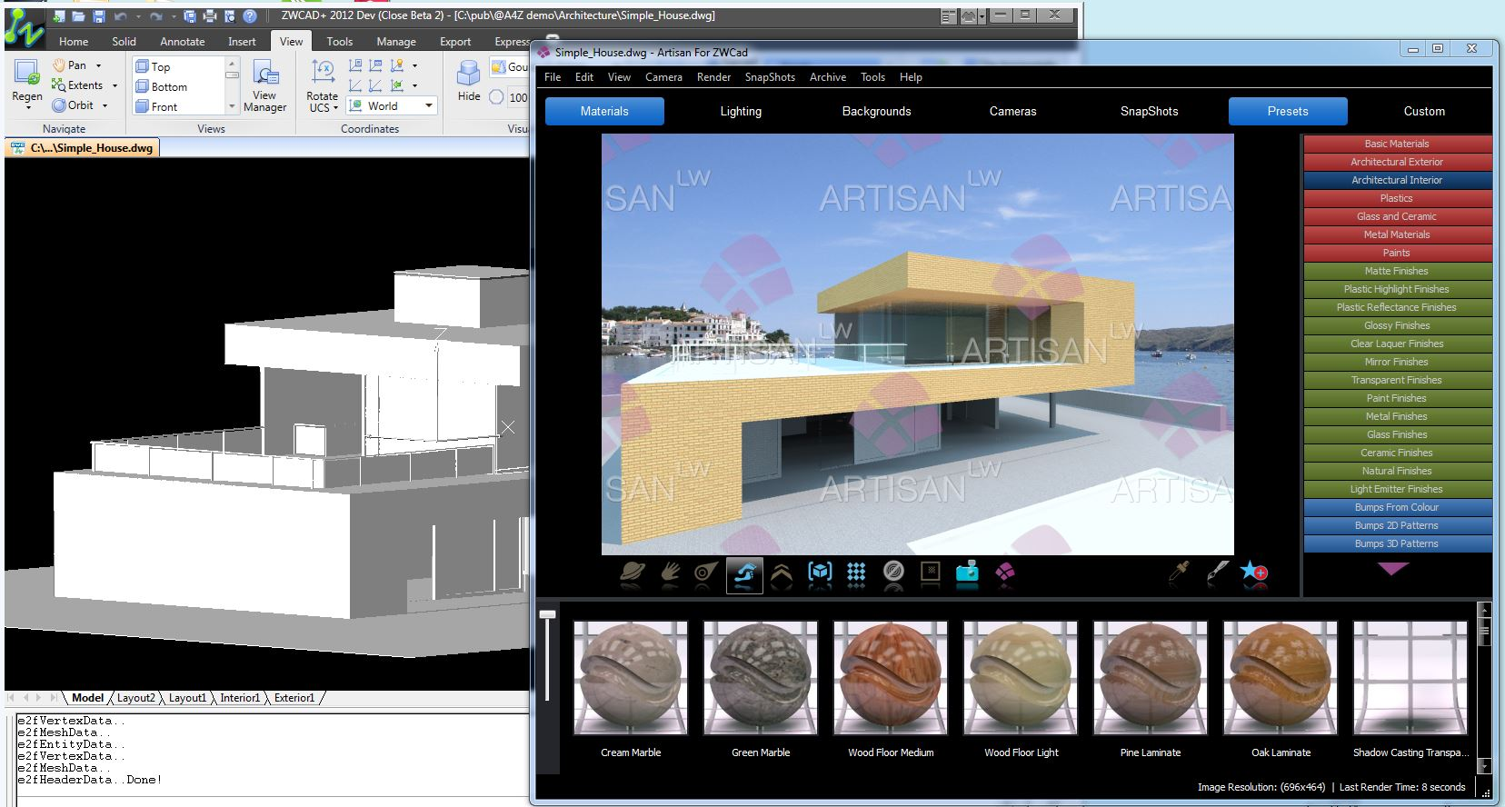 ZWCAD+ Partners with Lightworks to Release Artisan for ZWCAD+