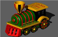 Flying-Toy-Train