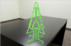 Pipe Christmas Tree