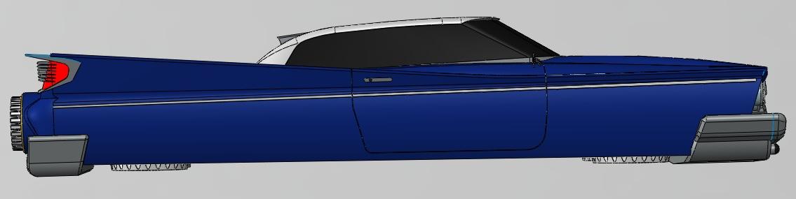 Super Desoto Hovercar