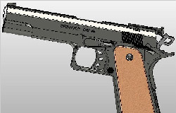 CAL.45 Handgun