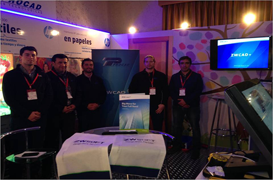 ProCad Presented ZWCAD+ 2014 in 100 SHOWROOMS in Chile