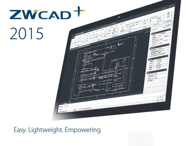 ZWCAD+ 2015  Extended Usability in 3D and GIS