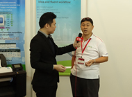 ZWCAD+ was interviewed by C21TV at Buildtech 2014, Malaysia