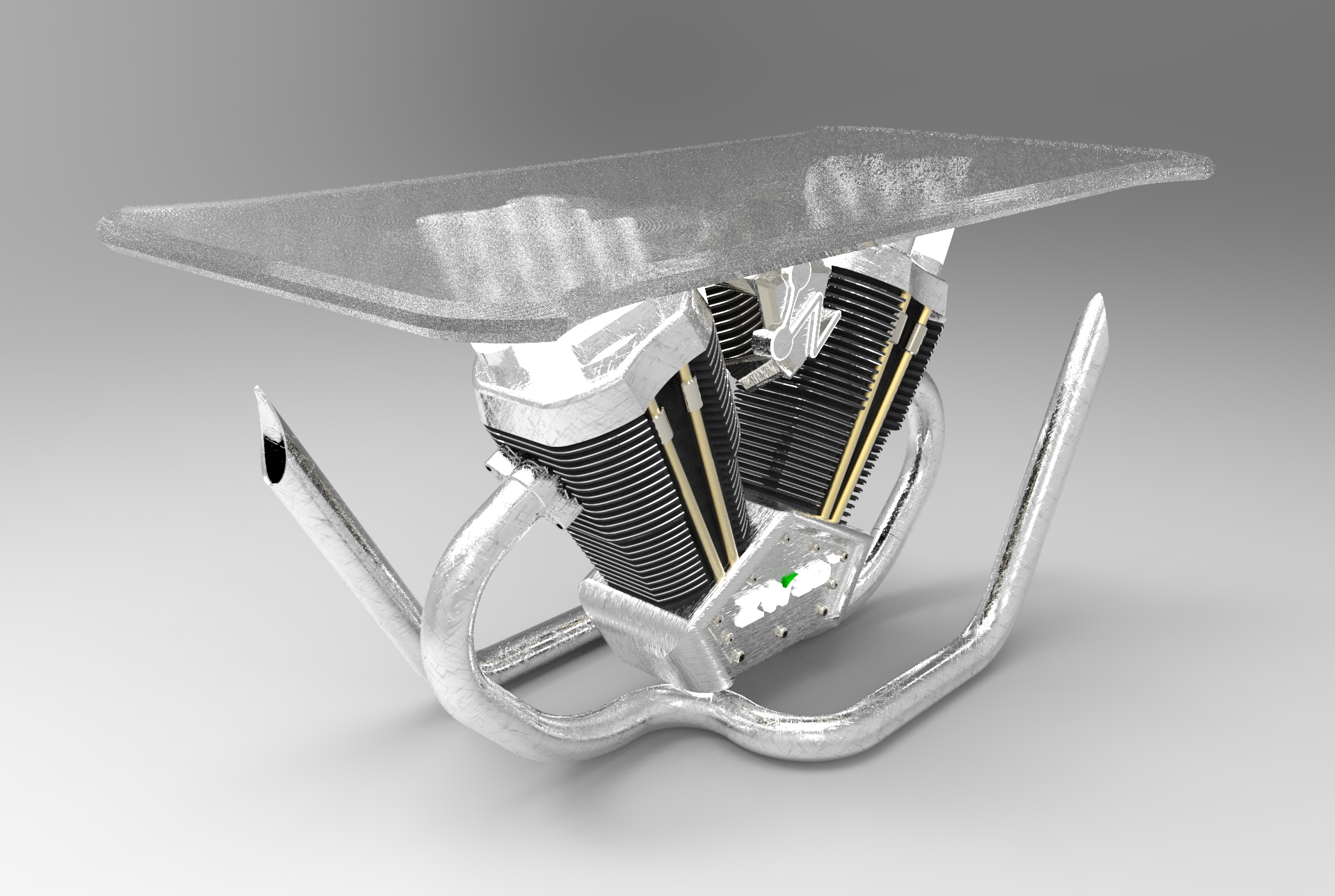 V-twin Table