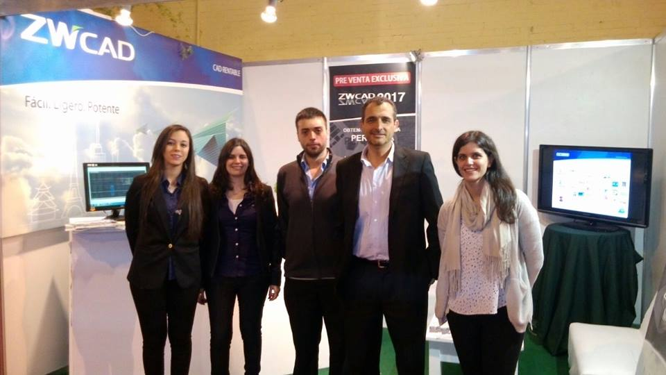 ZWCAD Participated in Construction Fair 2015 in Uruguay