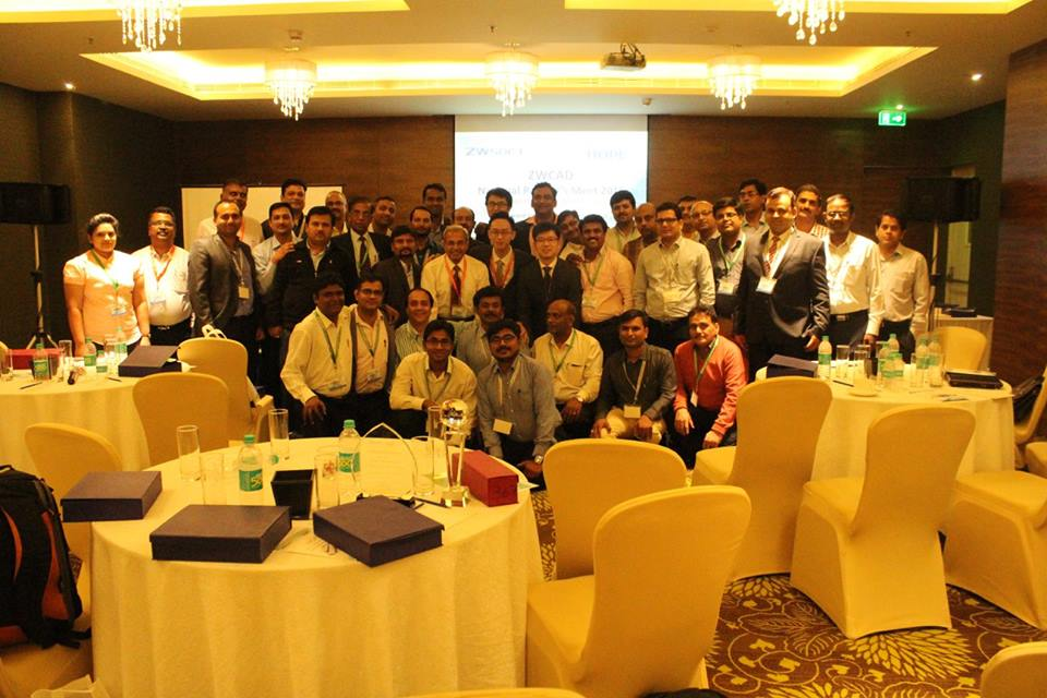 Overview on ZWCAD National Partner's Meet 2016 – Bangaluru, India