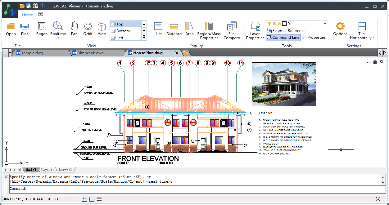 Free ZWCAD Viewer for CAD DWG File Viewing and Plotting
