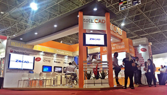 ZWCAD is Presented at Expo Feicon 2016 in Brasil