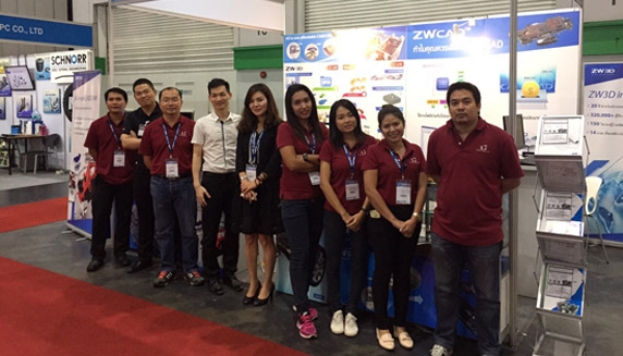 ZWCAD was Presented at Intermold 2016 in Thailand
